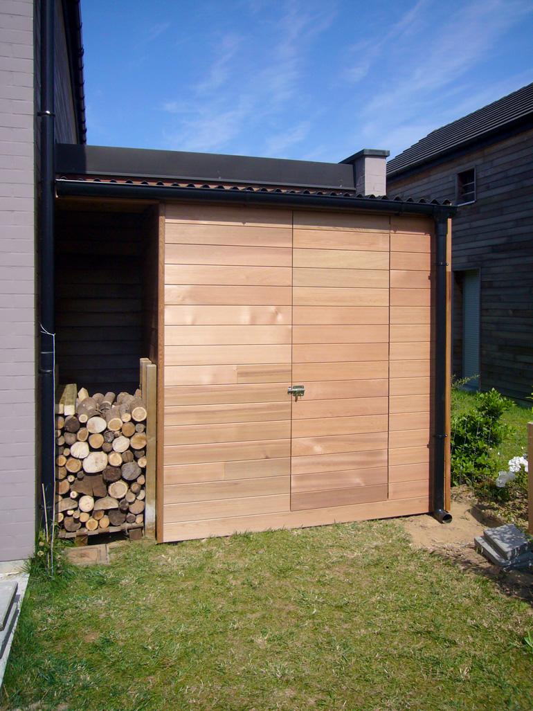 Abris sur mesure en Red Cedar | Ambiance Wood