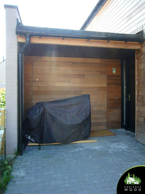 ambiance wood charpentier 59 nord abris sur mesure red cedar