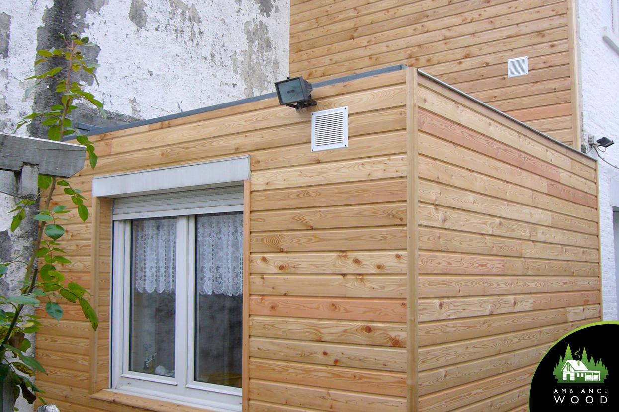 bardage m l ze isolation laine bois ambiance wood. Black Bedroom Furniture Sets. Home Design Ideas