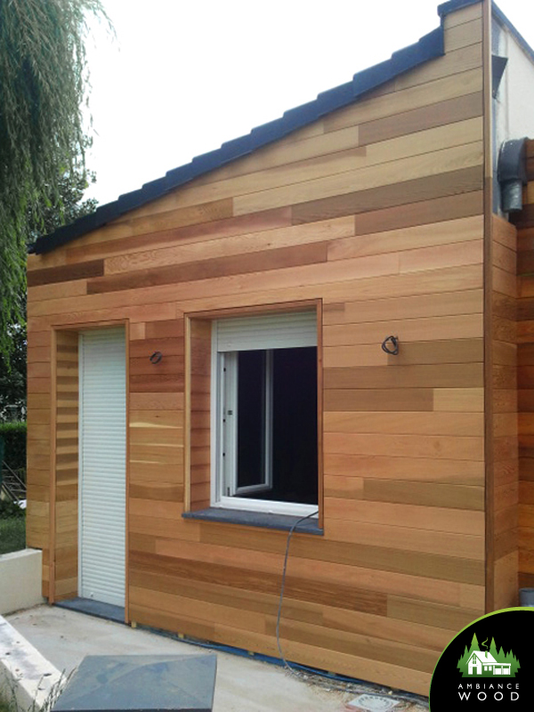 ambiance wood charpentier 59 nord bardage red cedar extension 30m2 sailly lez lannoy 59390