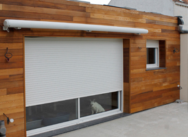 Bardage Red Cedar sur une extension de 30m²