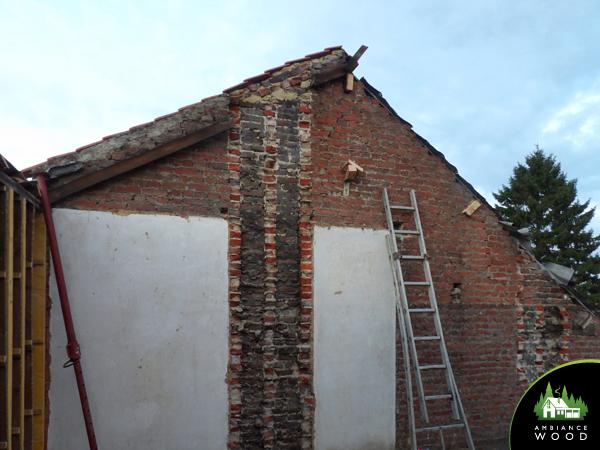 ambiance wood charpentier 59 nord charpente maison 1930 baisieux 59780