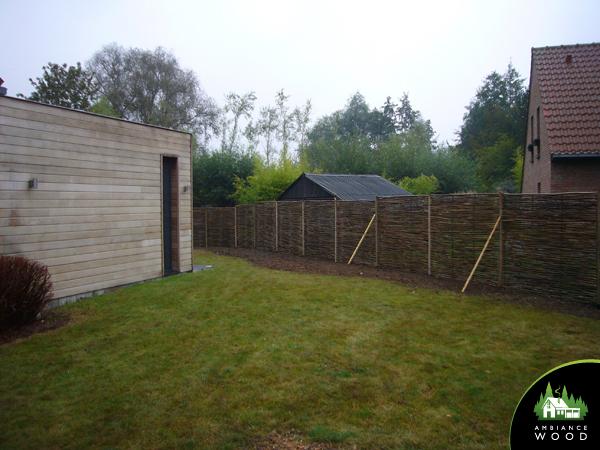 ambiance wood charpentier 59 nord cloture noisetier naturel tilloy lez marchiennes 59870