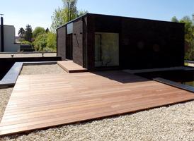 Terrase 40m² en IPE