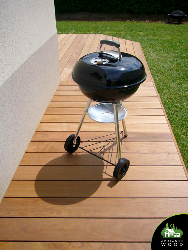 ambiance wood charpentier 59 nord terrasse ipe 27m2 barbecue weber offert