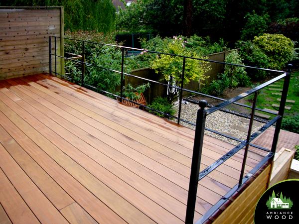 ambiance wood charpentier 59 nord terrasse suspendue 20m2 ipe