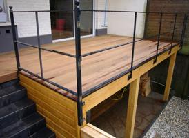 Terrasse de 20m² suspendue