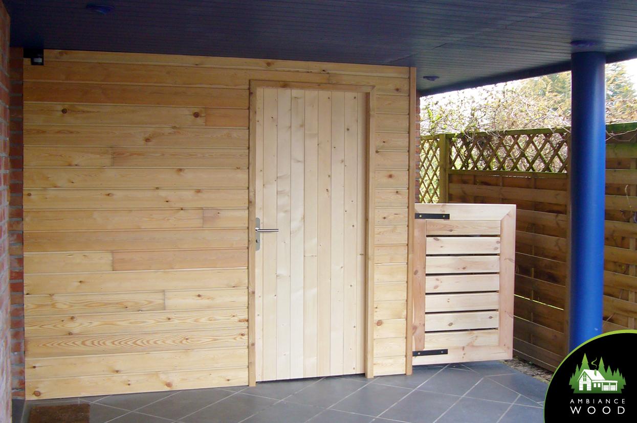 abris de jardin sur mesure – ambiance wood