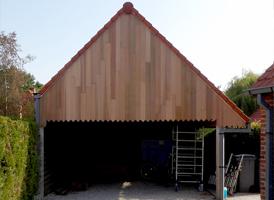 Bardage Pignon Red Cedar