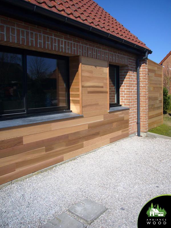 ambiance wood charpentier 59 nord bardage red cedar camphin en pevele 59830