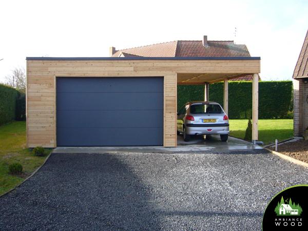 ambiance wood charpentier 59 nord carport garage 45m2