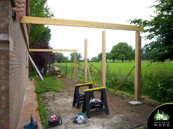 ambiance wood charpentier 59 nord carport voitures 34m2 genech 59242
