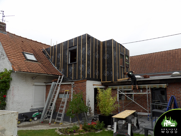 ambiance wood charpentier 59 nord ossature bois surevelevation 25m2 chereng 59152