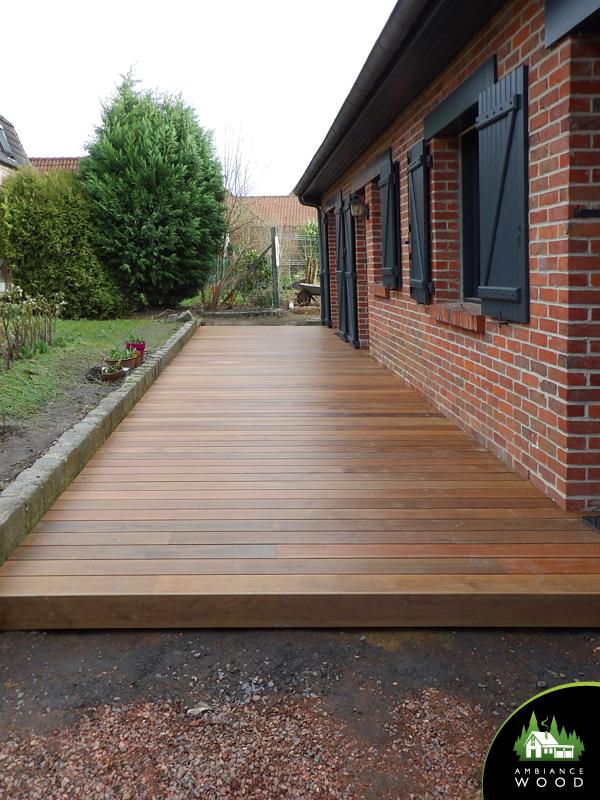 ambiance wood charpentier 59 nord terrasse ipe 30m2 genech 59242