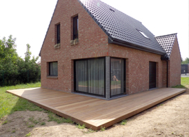 Terrasse IPE 55m²