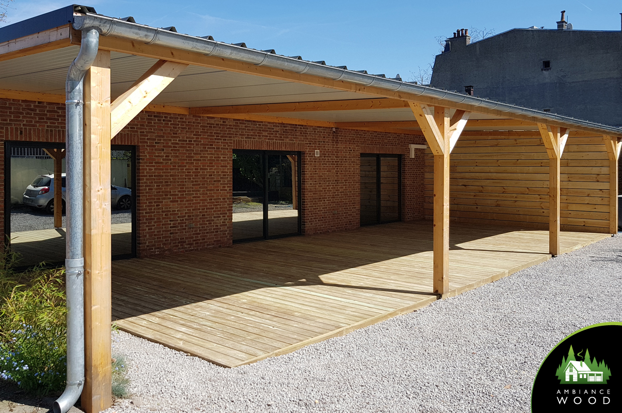 ambiance wood charpentier 59 nord terrasse pin autoclave classe 4 70m2 roubaix 59100