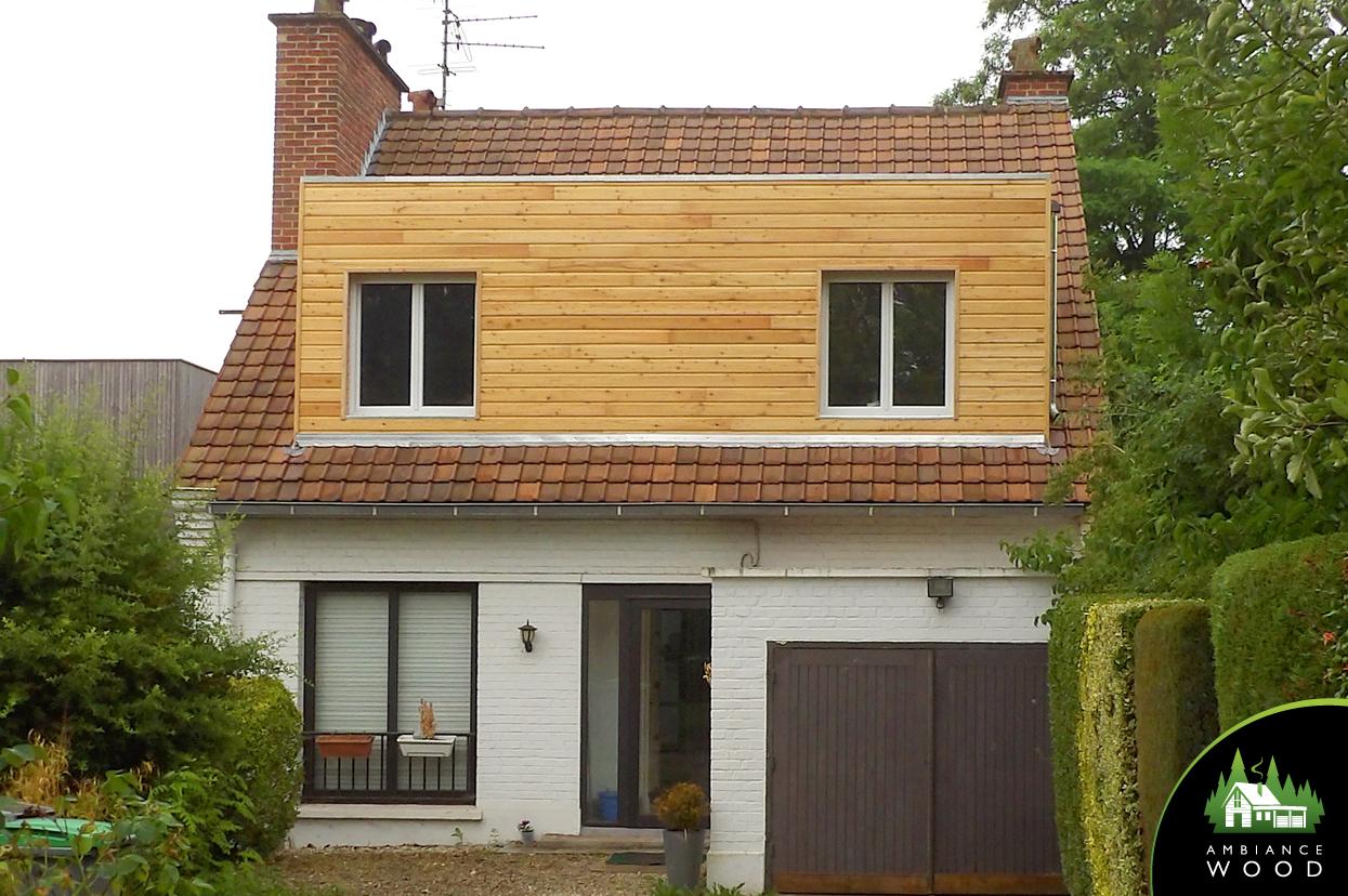 ambiance wood charpentier 59 nord ossature bois chien assis 17m2 sainghin en melantois 59262