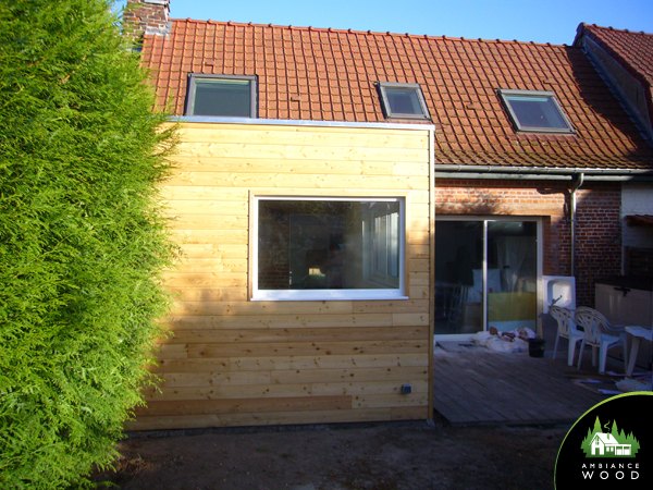 ambiance wood charpentier 59 nord ossature bois extension 15m2 chereng 59152