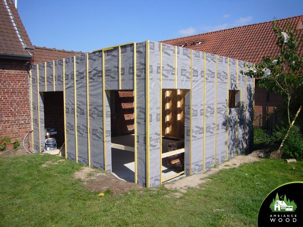 ambiance wood charpentier 59 nord ossature bois extension 25m2 peronne en melantois 59273