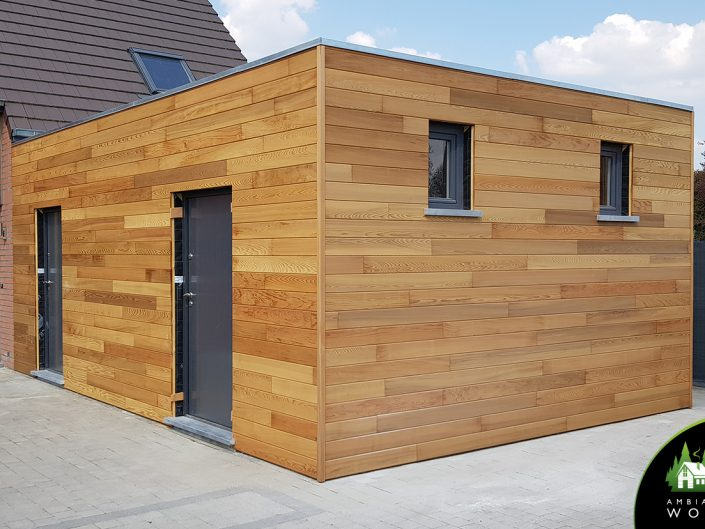 Extension 33m² ossature bois