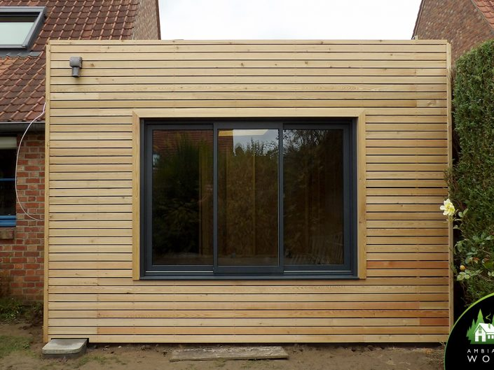 Extension bois de 45m²