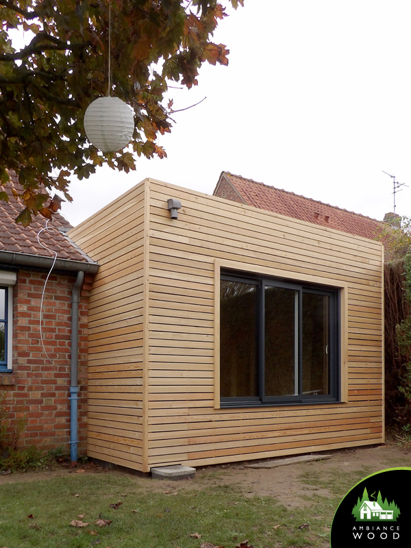 ambiance wood charpentier 59 nord ossature bois extension 45m2 chereng 59152