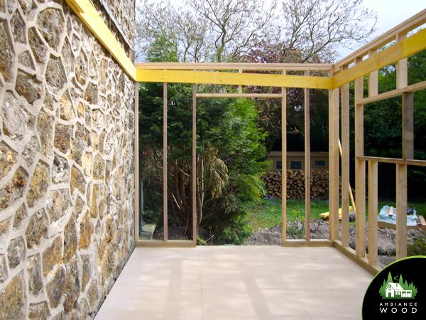 ambiance wood charpentier 59 nord ossature bois extension bois accueil clients gite lens 62300