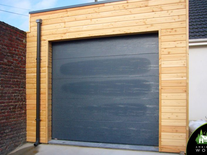 Garage & extension bois 40m²