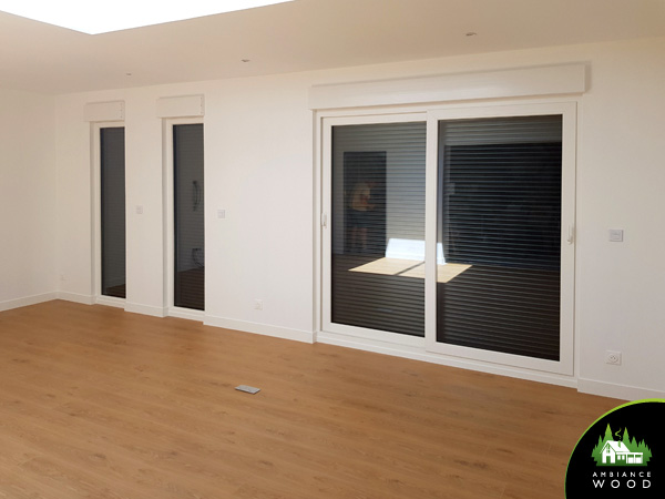 ambiance wood charpentier 59 nord ossature bois 30m2 lesquin 59810