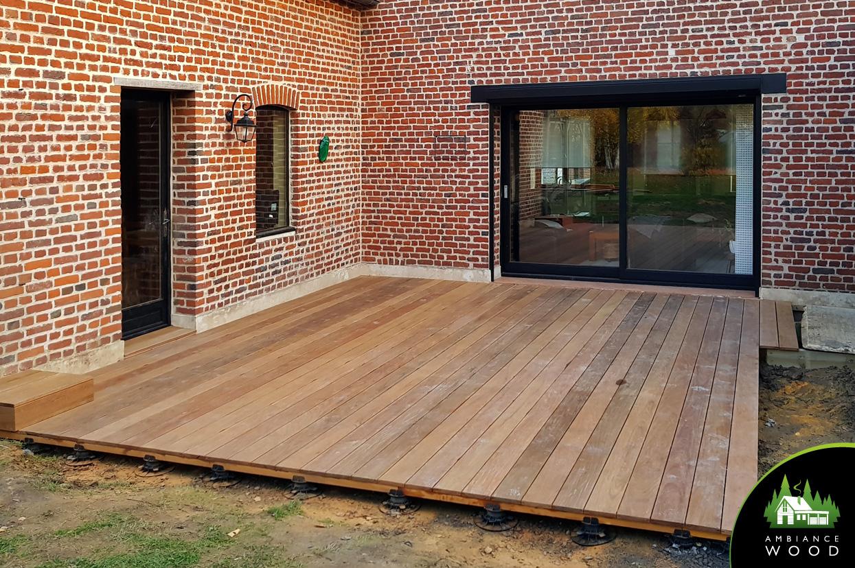 ambiance wood charpentier 59 nord terrasse ipe 32m2 camphin en pevele 59780
